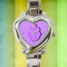 cute adventure time lumpy space heart charm watches stainless steel