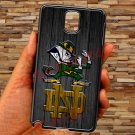notre dame fighting irish fit for samsung galaxy note 3 black case cover