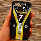pittsburgh steelers roethlisberger fit for iphone 4 4s black case cover