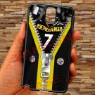 pittsburgh steelers roethlisberger fit for samsung galaxy note 3 black case cover