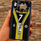 pittsburgh steelers roethlisberger fit for samsung galaxy note 5 black case cover
