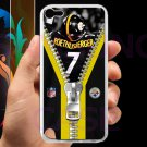 pittsburgh steelers roethlisberger fit for ipod touch 5 white case cover