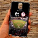 New york yankees stadium fit for samsung galaxy note 3 black case cover
