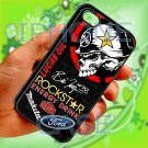 brian deegan ford rally metal mulisha sign fit for iphone 4 4s black case cover
