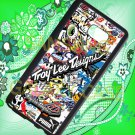 troy lee design stickerbomb motocross supercross fit for samsung galaxy note 5 black case cover