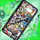 troy lee design stickerbomb motocross supercross fit for samsung galaxy S 6 edge+ black case cover