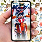 "kurt caselli biker supercross motocross racing fit for iphone 6 plus 5.5"" black case cover"