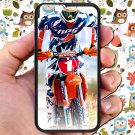 "kurt caselli biker supercross motocross racing fit for iphone 6 4.7"" black case cover"