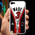 wade dwayne miami heat fit for ipod touch 5 white case cover