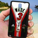 wade dwayne miami heat fit for samsung galaxy note 3 black case cover