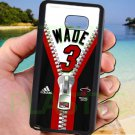 wade dwayne miami heat fit for samsung galaxy note 5 black case cover