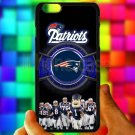 "england patriot mascot fit for iphone 6 plus 5.5"" black case cover"