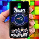 england patriot mascot fit for samsung galaxy note 3 black case cover