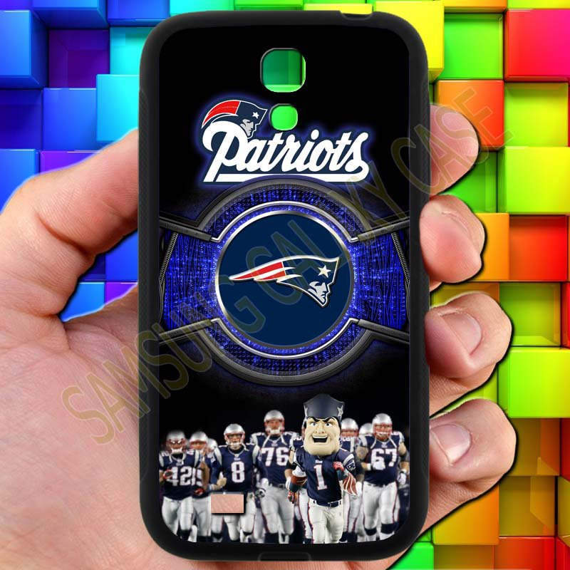 england patriot mascot fit for samsung galaxy S4 S 4 S IV black case cover