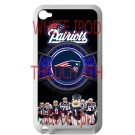 england patriot mascot fit for ipod touch 4 white case cover
