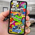 sticker bomb racing hoonigan subaru fit for iphone 6s plus black case cover