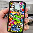 sticker bomb racing hoonigan subaru fit for samsung galaxy S5 S 5 S V black case cover