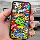 sticker bomb racing hoonigan subaru fit for ipod touch 6 black case cover