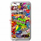 Eat Sleep JDM sticker bomb hoonigan subaru fit for ipod touch 4 white case cover