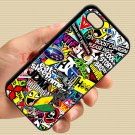 Eat Sleep JDM sticker bomb gymkhana illest subaru fit for iphone 4 4s black case cover