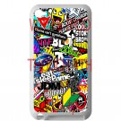 Eat Sleep JDM sticker bomb gymkhana illest subaru fit for ipod touch 4 white case cover