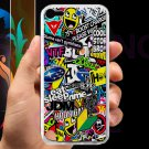 Eat Sleep JDM sticker bomb gymkhana illest subaru fit for ipod touch 5 white case cover