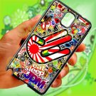 Eat Sleep JDM sticker bomb hand racing fit for samsung galaxy note 3 black case cover