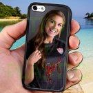 Alex Morgan Portland Thorns USA fit for iphone 5C black case cover