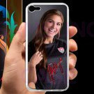 Alex Morgan Portland Thorns USA fit for ipod touch 5 white case cover