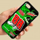 Dale Earnhardt Jr nascar fit for iphone 4 4s black case cover