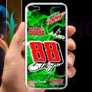 Dale Earnhardt Jr nascar fit for ipod touch 5 white case cover