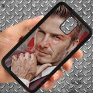 david beckham tattoo logo fit for samsung galaxy note 4 black case cover