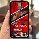 Ayrton Senna F1 legend fit for samsung galaxy S4 S 4 S IV black case cover