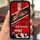 Ayrton Senna F1 legend fit for samsung galaxy S5 S 5 S V black case cover