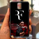 roger federer logo tennis signature fit for samsung galaxy note 3 black case cover