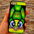 "valentino rossi la tarta logo signature fit for iphone 6 plus 5.5"" black case cover"