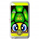 valentino rossi la tarta logo signature fit for ipod touch 4 white case cover