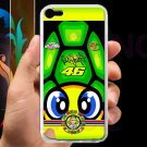 valentino rossi la tarta logo signature fit for ipod touch 5 white case cover