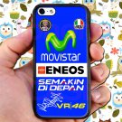 valentino rossi logo signature moto gp fit for iphone 4 4s black case cover