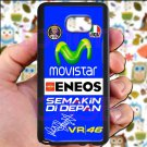 valentino rossi logo signature moto gp fit for samsung galaxy S6 S 6 S VI edge+ black case cover