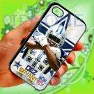 Dallas Cowboys Dez Bryant fit for iphone 5 5s black case cover
