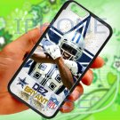 "Dallas Cowboys Dez Bryant fit for iphone 6 4.7"" black case cover"