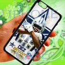 "Dallas Cowboys Dez Bryant fit for iphone 6 plus 5.5"" black case cover"