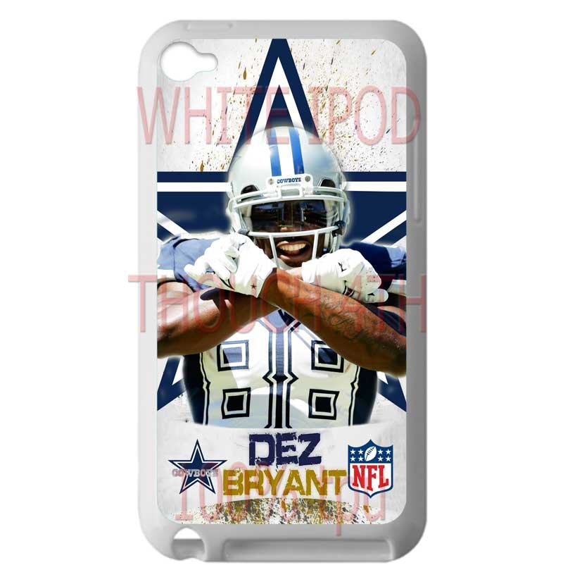 Dallas Cowboys Dez Bryant fit for ipod touch 4 white case cover