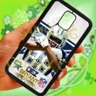 Dallas Cowboys Dez Bryant fit for samsung galaxy note 4 black case cover
