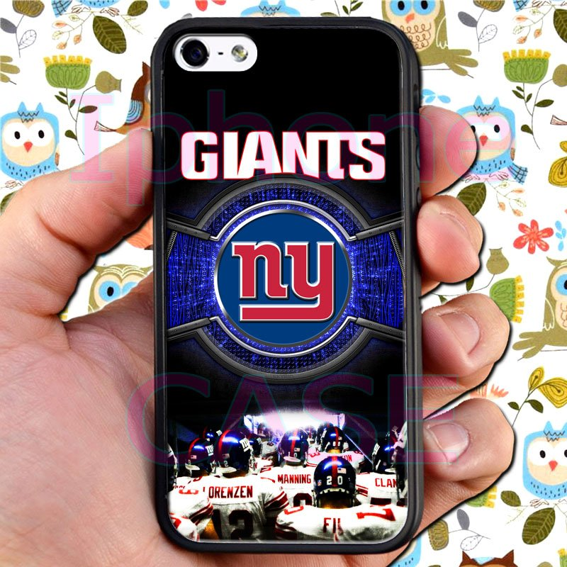 new york giants football beckam fit for iphone 5 5s black case cover