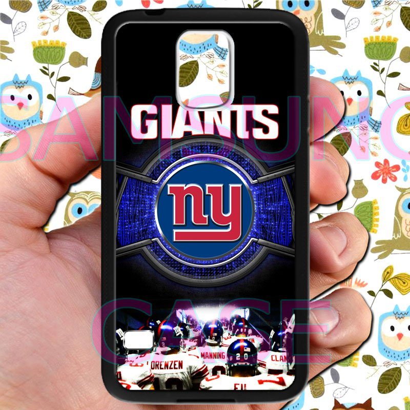 new york giants football beckam fit for samsung galaxy S5 S 5 S V black case cover