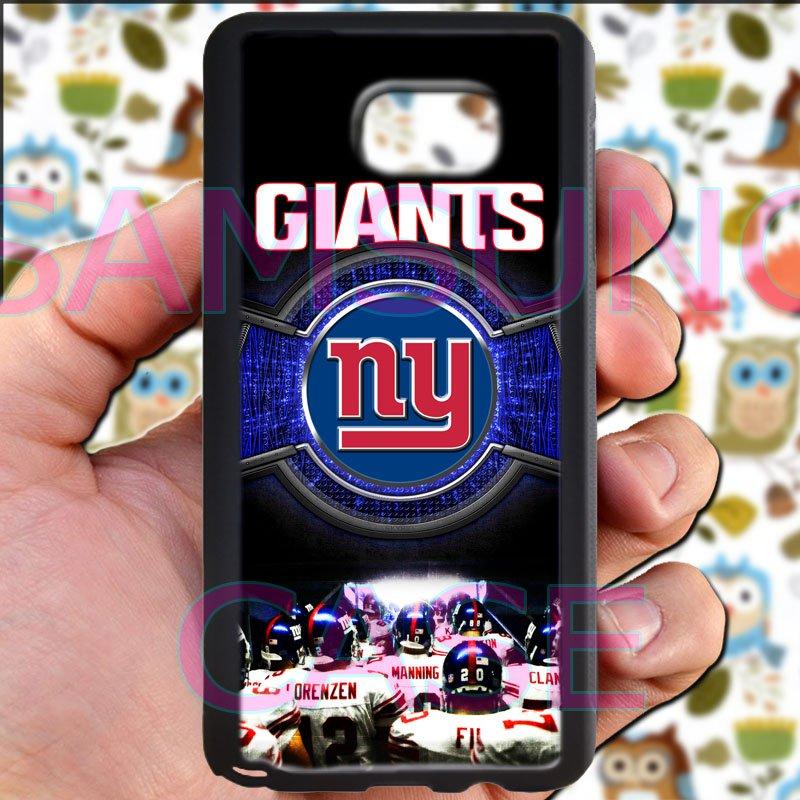 new york giants football beckam fit for samsung galaxy S6 S 6 S VI edge+ black case cover