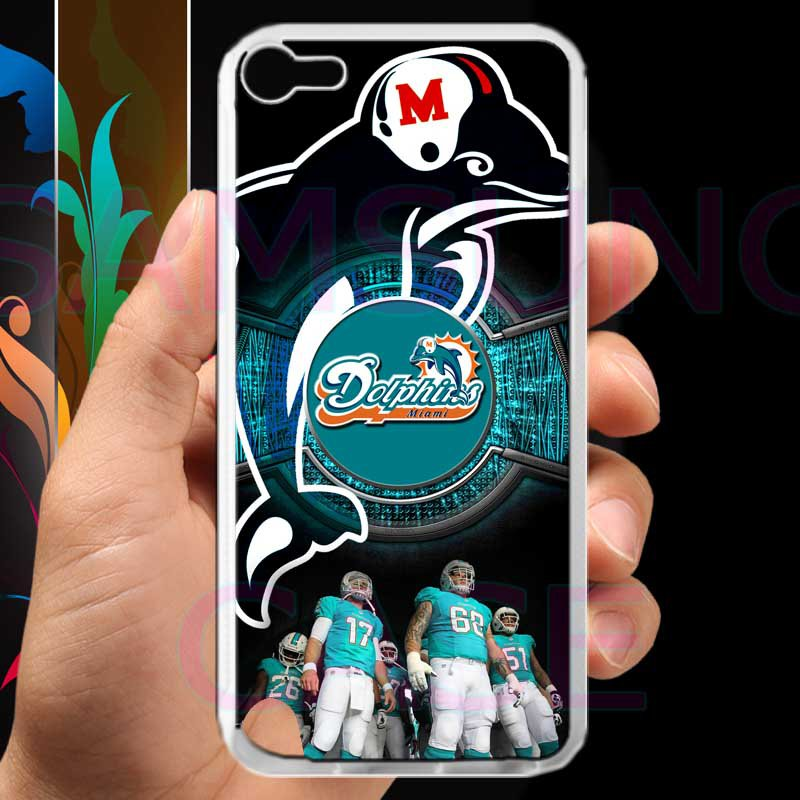 miami dolphins ryan tannehill fit for ipod touch 5 white case cover