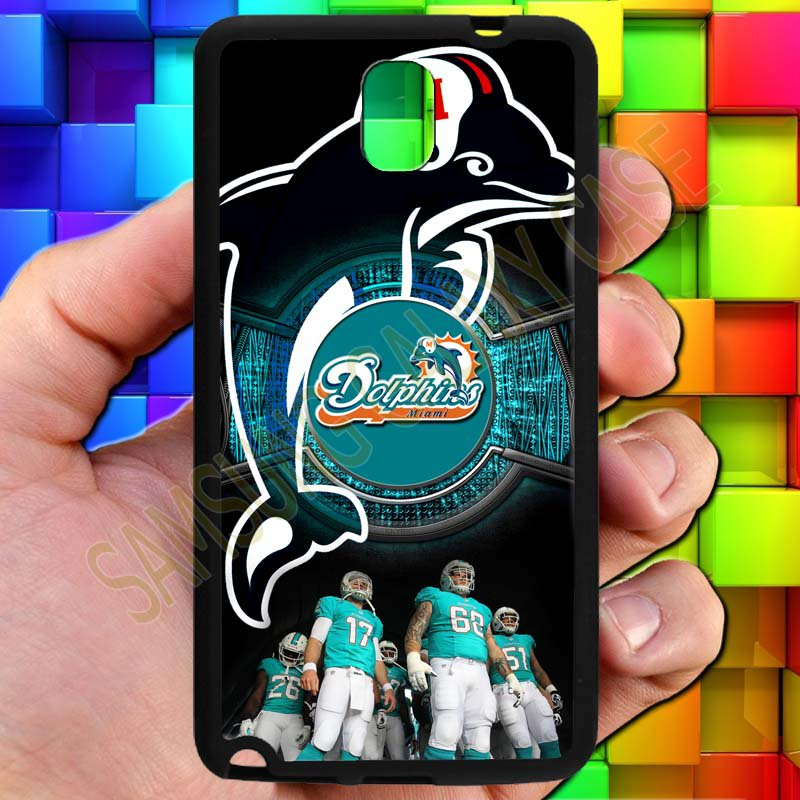 miami dolphins ryan tannehill fit for samsung galaxy note 3 black case cover